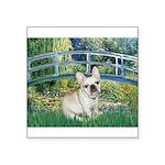 Bridge / Fr Bulldog (f) Square Sticker 3