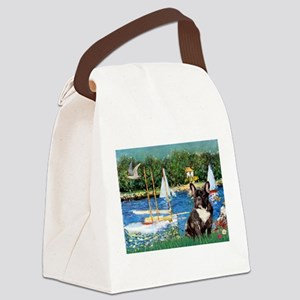 Sailboats / FBD Canvas Lunch Bag