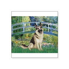Bridge / G-Shep Square Sticker 3