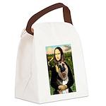 Mona's G-Shepherd Canvas Lunch Bag