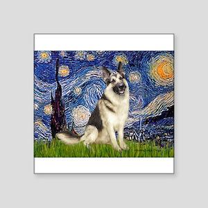 "Starry / G-Shep Square Sticker 3"" x 3"""