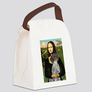 Mona / Ger SH Pointer Canvas Lunch Bag