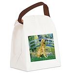 Bridge & Golden Canvas Lunch Bag