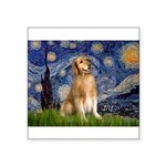 Starry Night / Golden Square Sticker 3