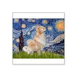 Starry Night & Golden Square Sticker 3