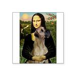 Mona / Great Dane Square Sticker 3