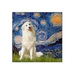Starry Night / Pyrenees Square Sticker 3