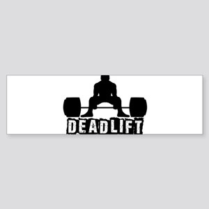 Deadlift Black Sticker (Bumper)