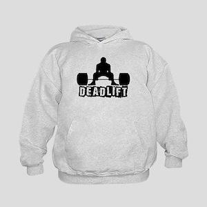 Deadlift Black Kids Hoodie