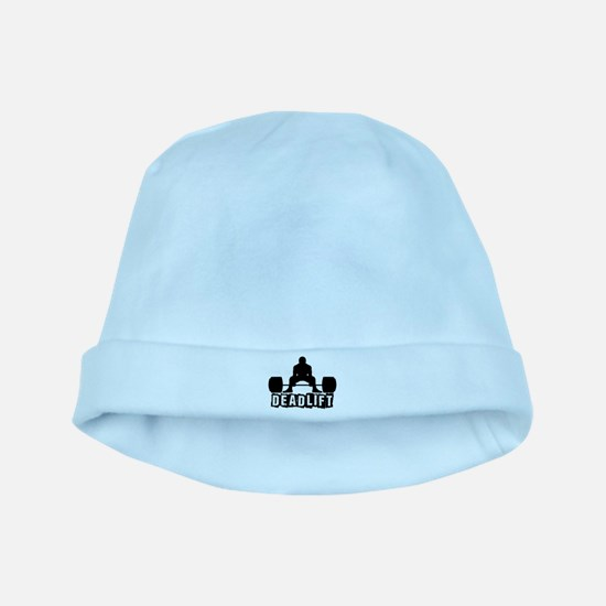 Deadlift Black baby hat