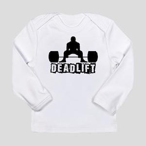 Deadlift Black Long Sleeve Infant T-Shirt