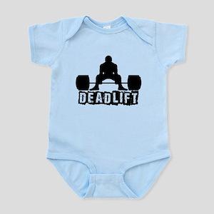 Deadlift Black Infant Bodysuit
