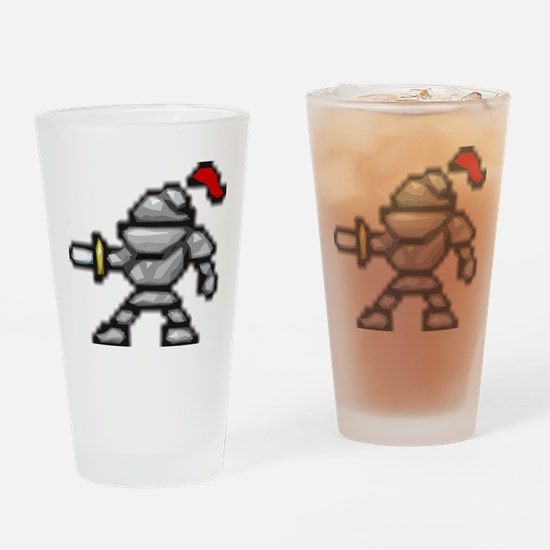 knightscharge Drinking Glass