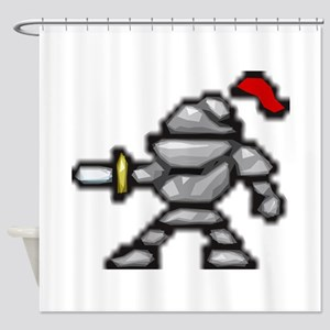 knightscharge Shower Curtain
