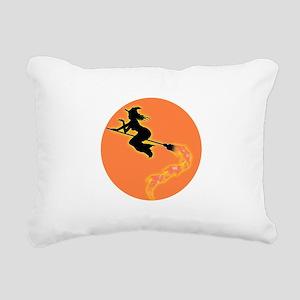 witch3 Rectangular Canvas Pillow