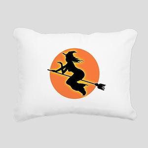 witch Rectangular Canvas Pillow