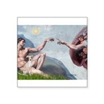 Creation / Ital Greyhound Square Sticker 3