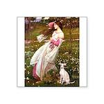 Windflowers / Ital Greyhound Square Sticker 3