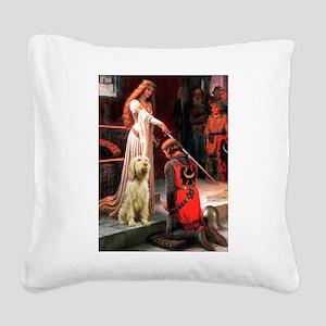 Accolade/Italian Spinone Square Canvas Pillow
