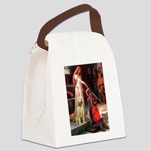 Accolade/Italian Spinone Canvas Lunch Bag