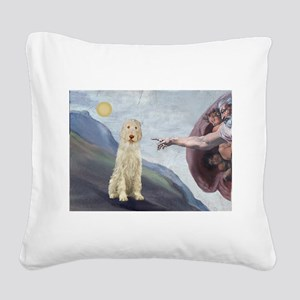 Creation / Ital Spinone Square Canvas Pillow