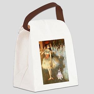 BalletClass-JackRussell #11 Canvas Lunch Bag