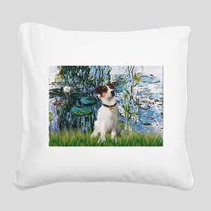 Lilies / JRT Square Canvas Pillow
