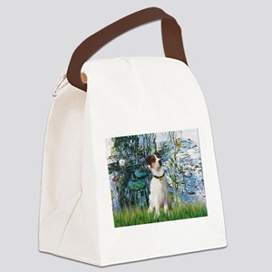 Lilies / JRT Canvas Lunch Bag