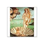 Venus / Lhasa Apso #9 Square Sticker 3