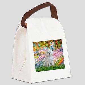Garden / Maltese Canvas Lunch Bag