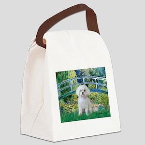 Bridge / Maltese Canvas Lunch Bag
