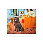 Room & Newfoundland Square Sticker 3