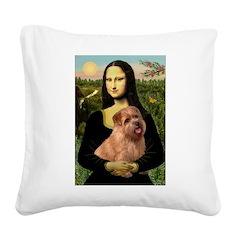 Mona / Norfolk Terrier Square Canvas Pillow