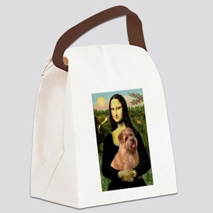 Mona / Norfolk Terrier Canvas Lunch Bag