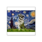Starry / Nor Elkhound Square Sticker 3