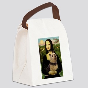 Mona / Norwich Terrier Canvas Lunch Bag
