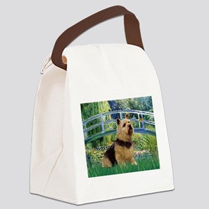 Bridge / Norwich Terrier Canvas Lunch Bag