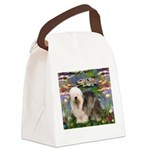 Lilies / OES Canvas Lunch Bag