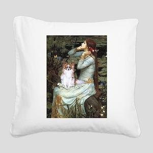 Ophelia & Papillon Square Canvas Pillow