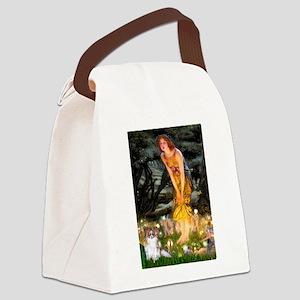 Fairies / Papillon (f) Canvas Lunch Bag