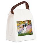 Garden & Papillon Canvas Lunch Bag