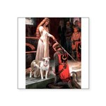 The Accolade / Pitbull Square Sticker 3