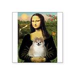 Mona/Pomeranian (#1) Square Sticker 3