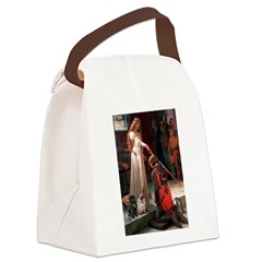 Accolade / 2 Pugs Canvas Lunch Bag