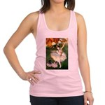 Dancer / 2 Pugs Racerback Tank Top