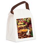 Path / Rat Terrier Canvas Lunch Bag