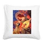 Angel / Rho Ridgeback Square Canvas Pillow