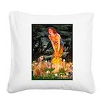 Mideve / Rho Ridgeback Square Canvas Pillow