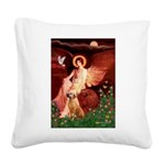 Angel / R Ridgeback Square Canvas Pillow