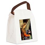 Madonna/Rottweiler Canvas Lunch Bag